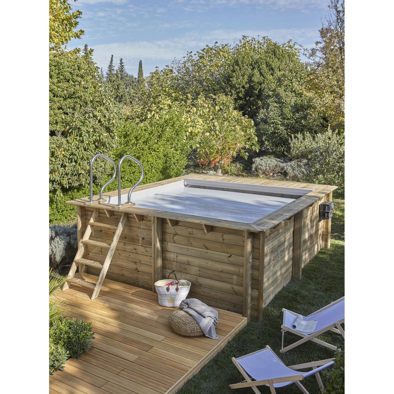 Piscines bois loic piscines et spas for Piscine pistoche