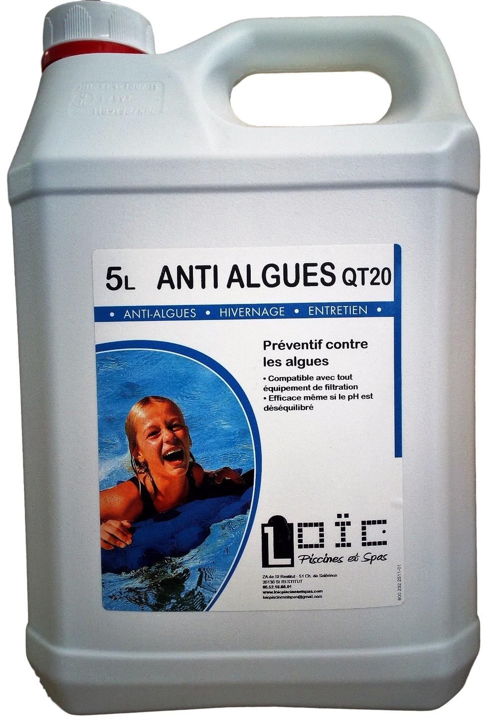 Antialgues loic piscines et spas - Anti algues piscine sulfate de cuivre ...